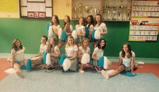 Raz, dwa, trzy… Cheerleaderki to my!